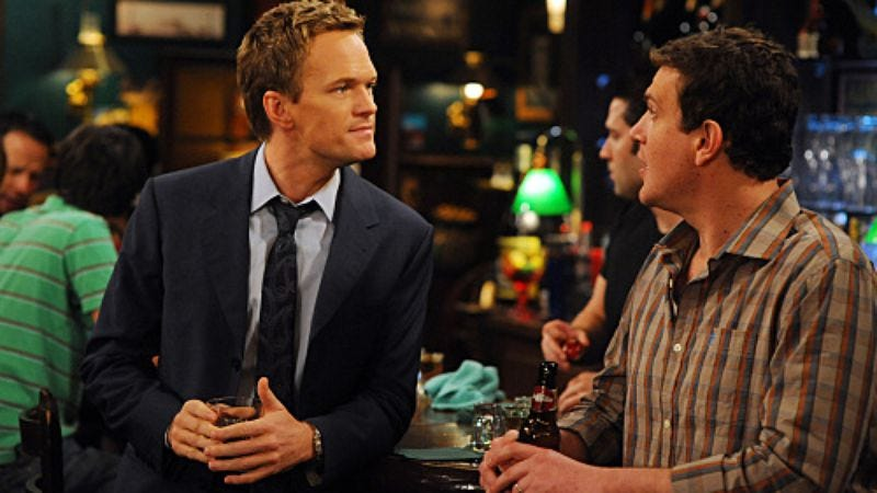"""Illustration for article titled How I Met Your Mother: """"Right Place Right Time"""""""