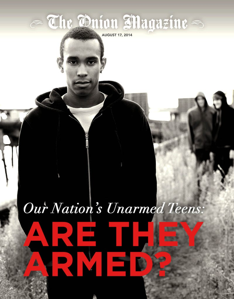 Illustration for article titled Our Nation's Unarmed Teens: Are They Armed?