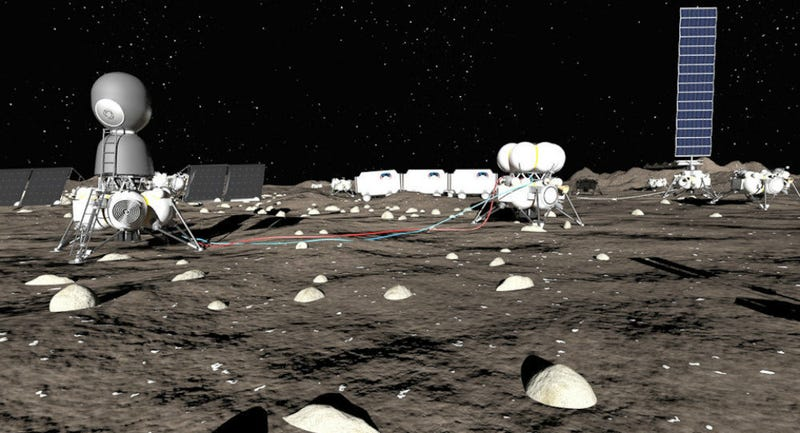 Illustration for article titled A Russian Company Wants to Build a Base on the Moon