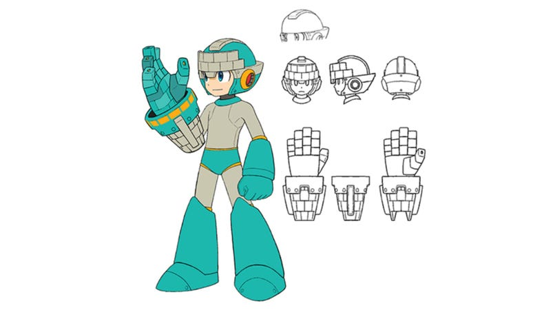 Illustration for article titled Mega Man Fans Want To Know The Origin Of This Out-Of-Place Concept Art [Update]