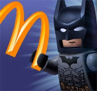 Illustration for article titled Lego Batman Descends Upon Your Happy Meals