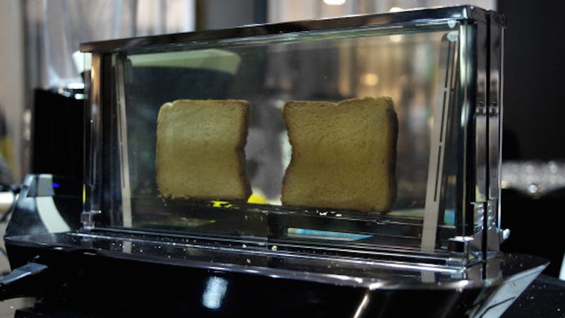 Illustration for article titled This Glass Toaster Costs $1,000—But It Can Cook Steak