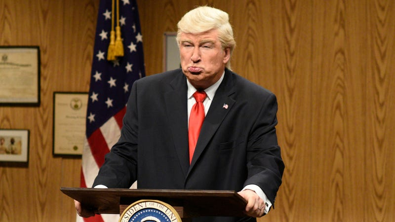 Illustration for article titled Alec Baldwin says Trump doesn't deserve better than his shitty impression