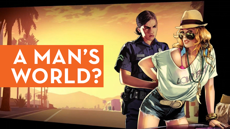 Illustration for article titled Grand Theft Auto V and Women