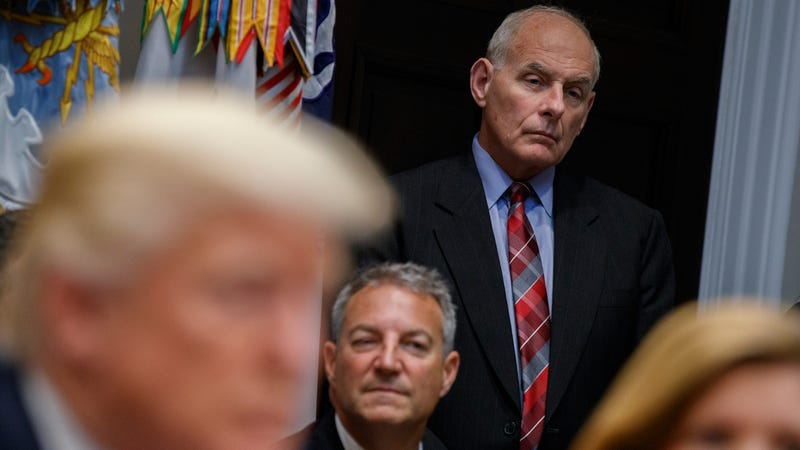Very Tired-Sounding John Kelly: Yeah, I Just Ignore Donald Trump's Tweets