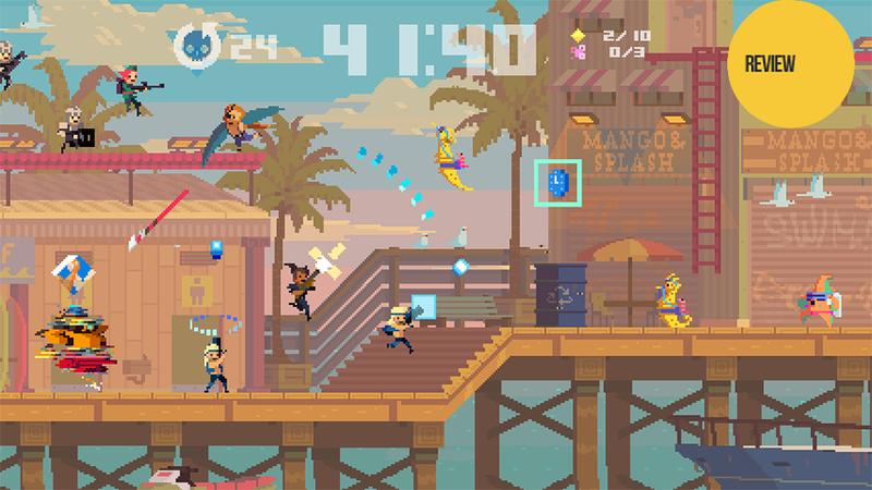 Illustration for article titled Super Time Force: The Kotaku Review