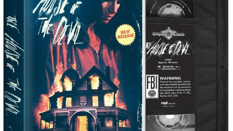 Illustration for article titled House Of The Devil brings sexy, VHS back for home viewing
