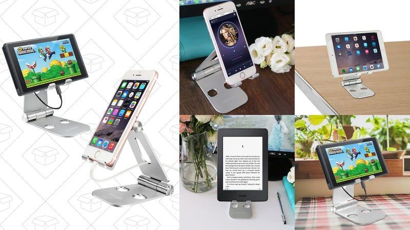 Pecham Foldable Device Stand | $10 | Amazon | Promo code PLRELAL8