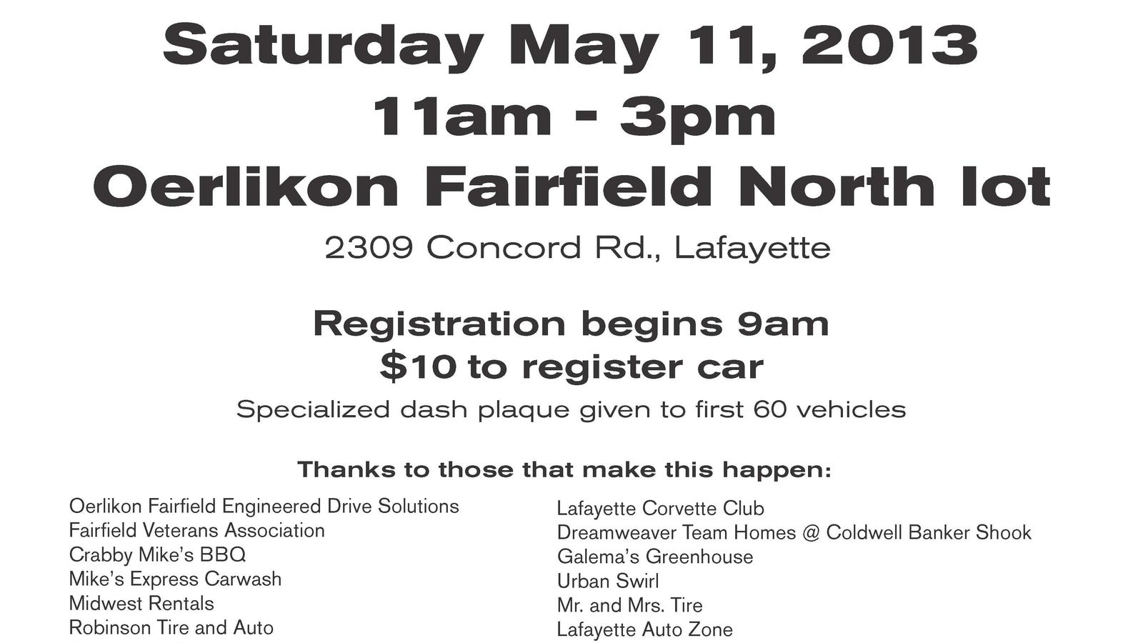 Shameless plug, come to my club's car show  (if kinja works   )