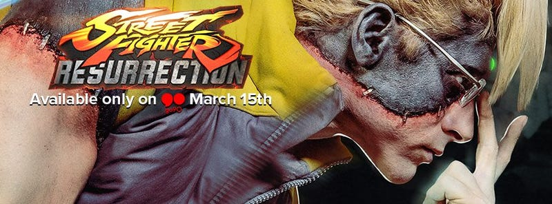 Illustration for article titled Street Fighter: Resurrection Trailer