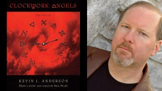 Illustration for article titled Kevin J. Anderson talks Clockwork Angels, his new novel with Rush drummer Neil Peart