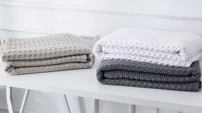 PHF Cotton Waffle Weave Blankets | 30% Off | Amazon