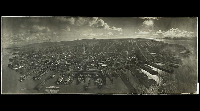 Illustration for article titled Panoramas From The Early 1900s Let You Gaze Far And Wide At The Past