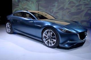 Illustration for article titled Mazda Shinari Concept: Beauty, Grace, Fantasy