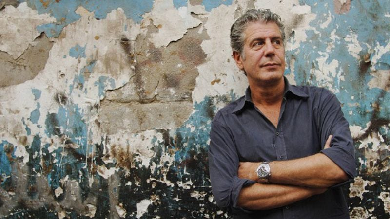 Illustration for article titled Anthony Bourdain: No Reservations