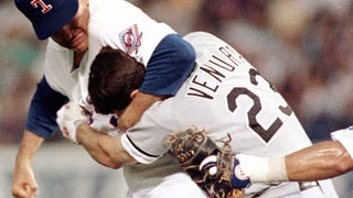 22 Years Ago Today, Nolan Ryan Beat The Shit Out Of Robin Ventura