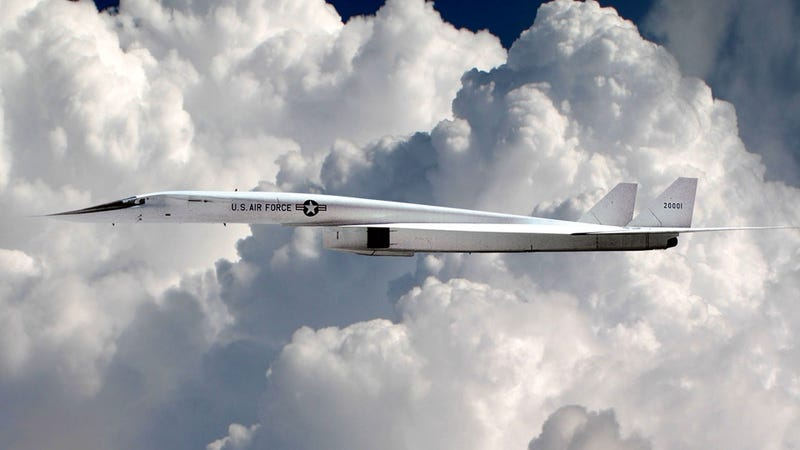 Illustration for article titled This may be the coolest, most futuristic bomber ever built