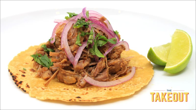 Illustration for article titled 3-ingredient carnitas mean taco night has never been easier