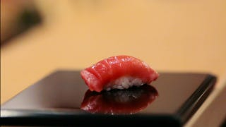 Illustration for article titled Jiro Dreams Of Sushi: You'll Never Be Half as Good at Anything.