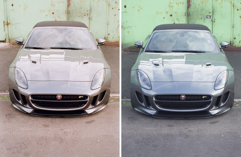 Illustration for article titled Film Versus Digital With A Jaguar F-Type R