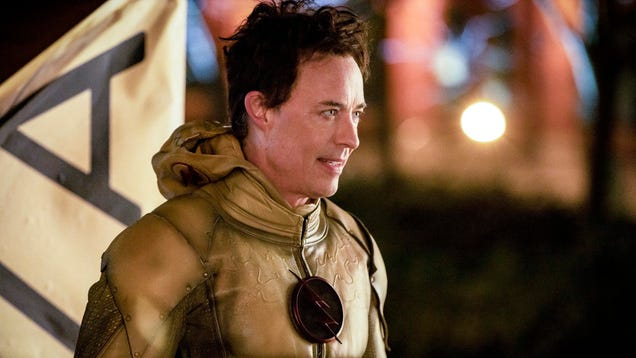 A fine night for a little Reverse Flash