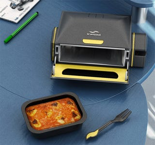 Illustration for article titled This Desktop Microwave Will Make You Fat
