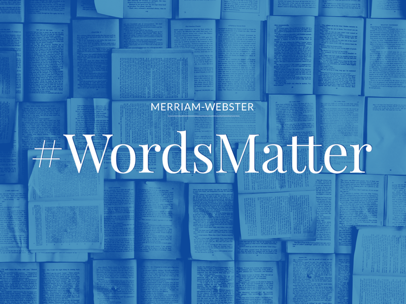 Graphic: Merriam-Webster