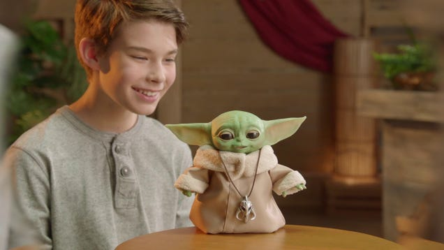 Use the Force and/or Money To Reel in All This Fun, Goofy Baby Yoda Merch