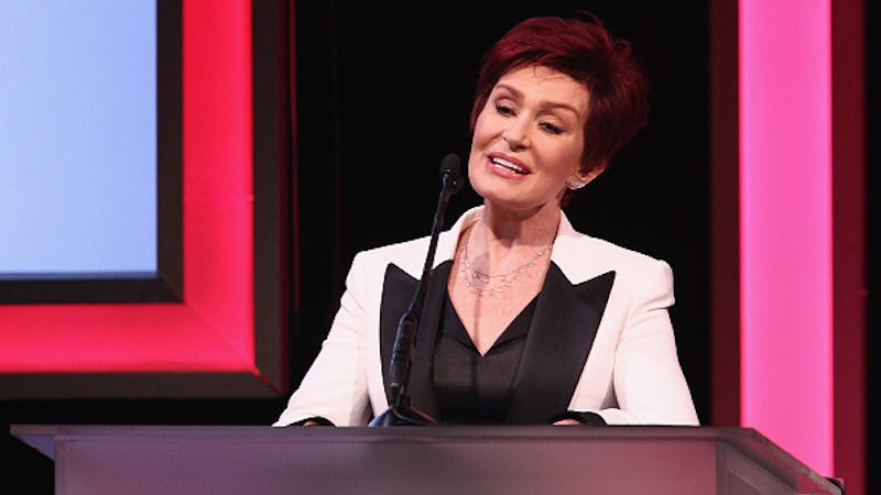 Illustration for article titled Amidst Divorce Rumors, Sharon Osbourne Did Not Appear On The Talk Today