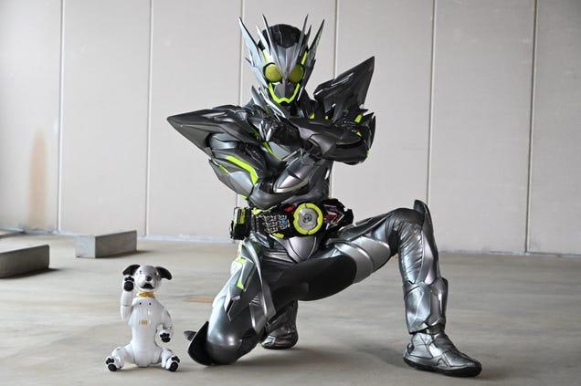 That Kamen Rider s Got a Robot Dog