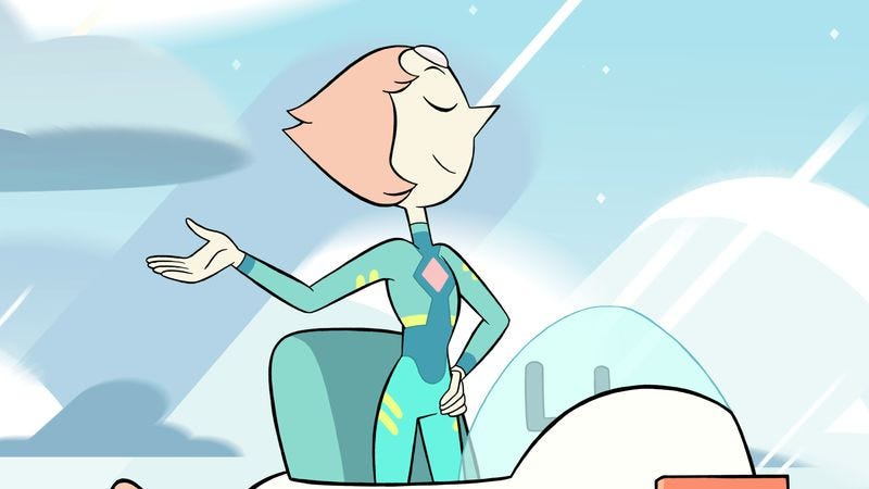 Illustration for article titled Robot Olympics and lesson learning on an excellent Steven Universe