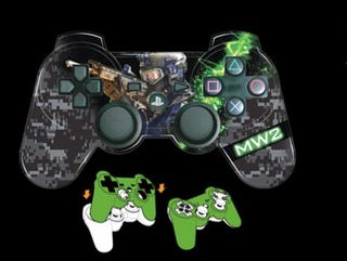 Illustration for article titled Modern Warfare 2 PS3 Controller Faceplate Review: Cheap, But Does The Job