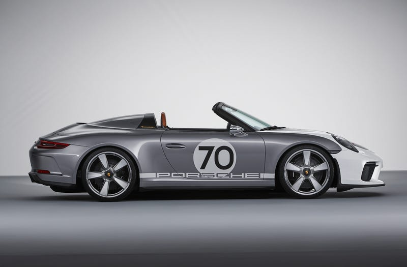 Illustration for article titled The Porsche 911 Speedster Concept Is A 500 HP Throwback Designed To Perfection