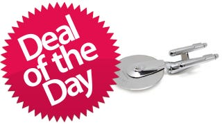 Illustration for article titled This Star Trek Pizza Cutter Is Your Warp-Drive-To-Deliciousness Deal of the Day