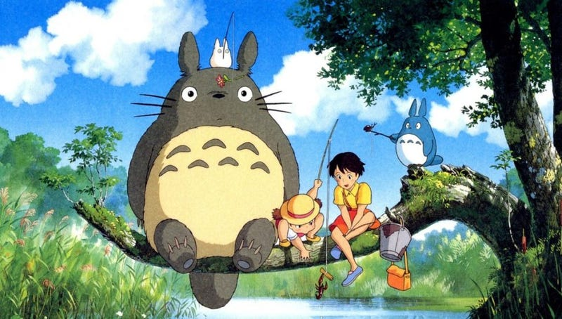 My Neighbor Totoro | $13 | AmazonPrincess Mononoke | $13 | AmazonCastle in the Sky | $13 | AmazonSpirited Away | $13 | Amazon