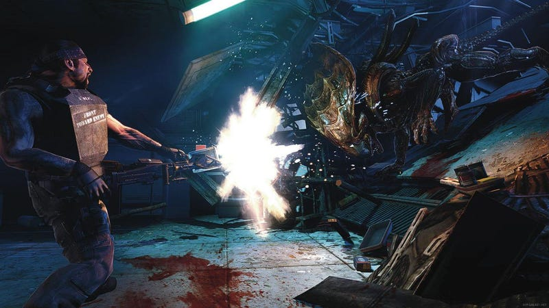 Illustration for article titled Another Glorious Day in the Corps for Aliens: Colonial Marines