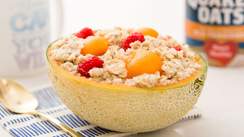 Illustration for article titled Make Oatmeal Overnight in a Cantaloupe and Wake Up to a Super Easy Breakfast