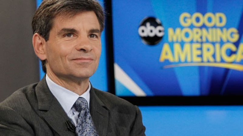 Illustration for article titled Beloved Marvel character George Stephanopoulos to appear on Agents Of S.H.I.E.L.D.