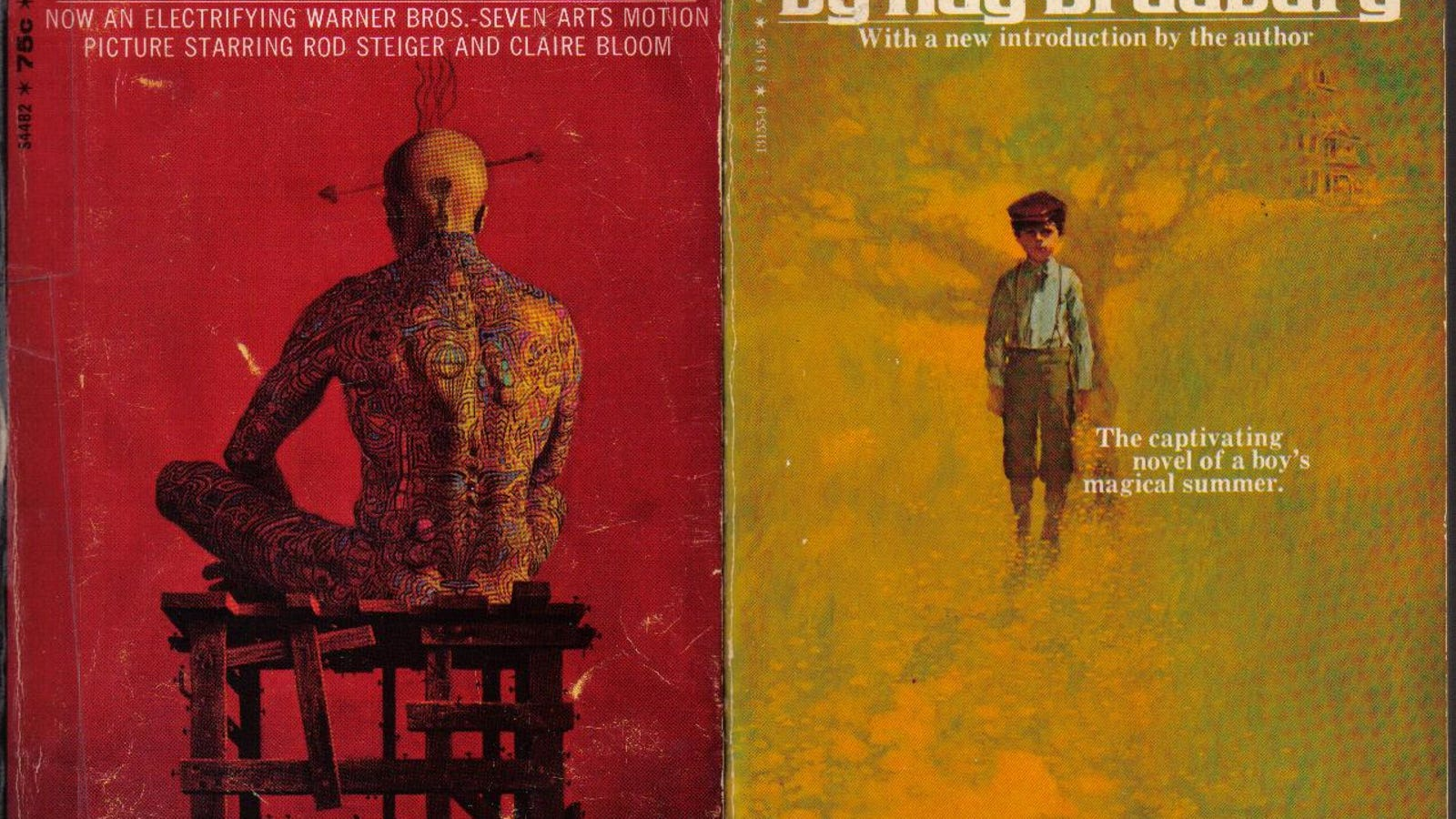 Now At Last Ray Bradbury S Novels Are Out As E Books