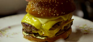 Illustration for article titled Chef Sean Brock shows how to make the perfect cheeseburger