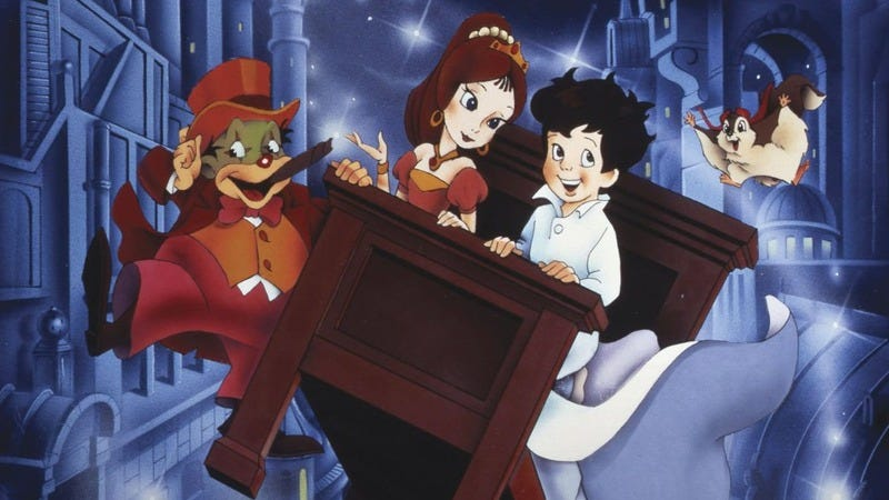 Illustration for article titled The Little Nemo movie is like a dream: scattered, strange, ineffably moving