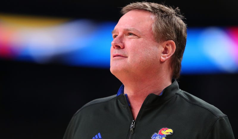 Illustration for article titled Text Messages Show Bill Self Working With Shady Adidas Consultant To Recruit Player