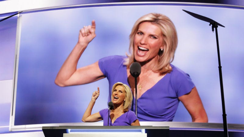 Illustration for article titled Laura Ingraham Said Some Racist Shit About Immigrants Again