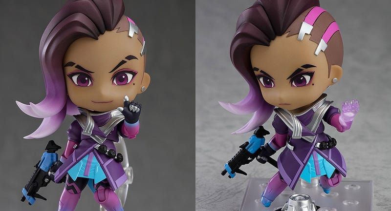 Illustration for article titled A Little Sombra Figure For Overwatch Fans