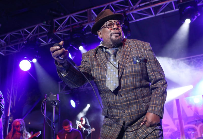 Musician George Clinton performs at the 2015 National Association of Music Merchants show at the Anaheim Convention Center on Jan. 23, 2015, in California.  Jesse Grant/Getty Images for NAMM