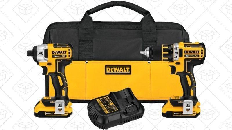 Pack de herramientas DEWALT 20V Max XR de Litio, $179