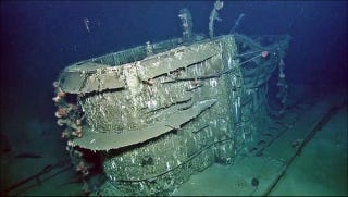 Illustration for article titled A Sunken Nazi Sub Has Been Discovered Off The Texas Coast