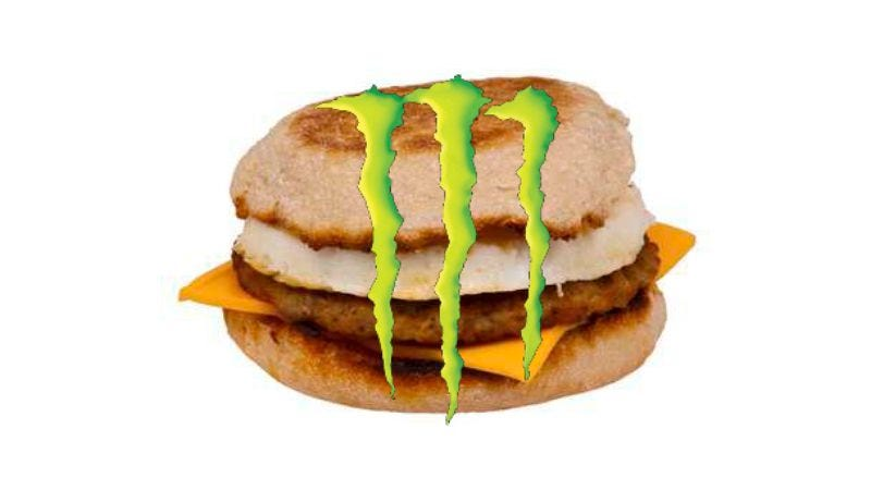 Illustration for article titled McDonald's starts selling Monster Energy drinks, is actively trying to kill people