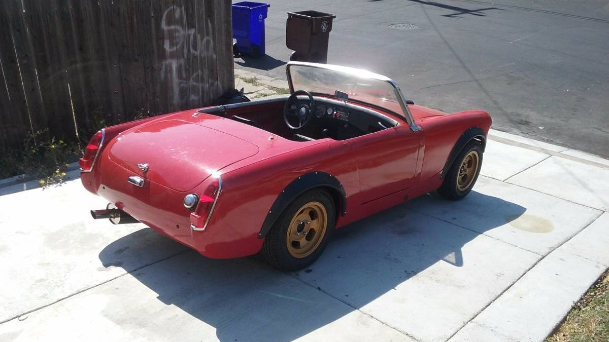 For 5900 Would You Get Down With This Rotary 1962 Mg Midget 62 Austin Healey Sprite Wiring Diagram