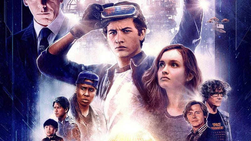 Poster image for Ready Player One.